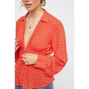 Free People Colette Blouse